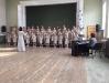 Meiteņu kora dalība koru skatē Kurzemes novadā Talsos