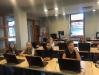 Mūsu skolēni pilsētas bibliotēkas nodarbībās