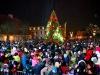 PIlsētas galvenās Ziemassvētku eglītes iedegšanas svētki