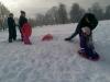 Sniega dienas aktivitātes Reņķa dārzā